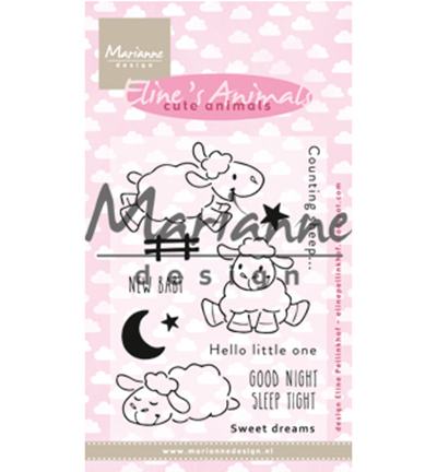 EC0175 - Eline's Cute Animals - Sheep