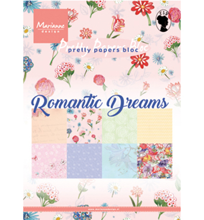 Pretty Papers Blocks - A5 PK9160 - Romantic Dreams