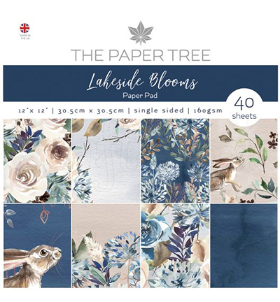 PTC1004 - Lakeside Blooms Paper Pad