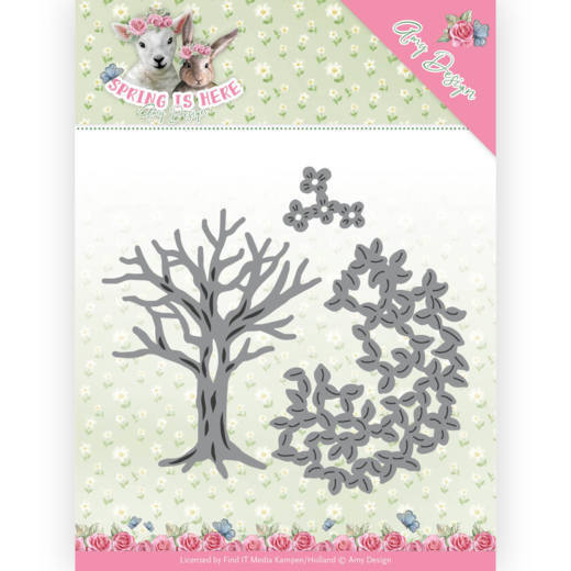 Dies - Amy Design - Spring is Here - Spring Tree