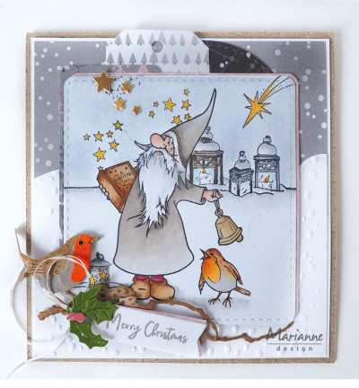Clearstamp HT1649 - Hetty's Gnomes Christmas