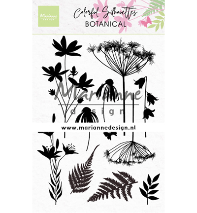 CS1048 - Colorful Silhouette - Botanical