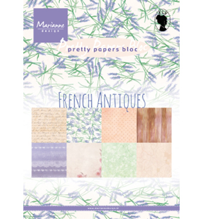 Paper Pack PK9167 - French Antiquespack