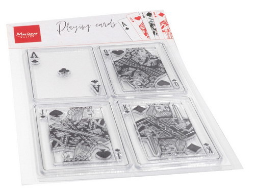 CLEAR STAMPS -  MD - CS1055 - Playing cards