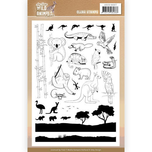 Clear Stamps - Amy Design - Wild Animals Outback