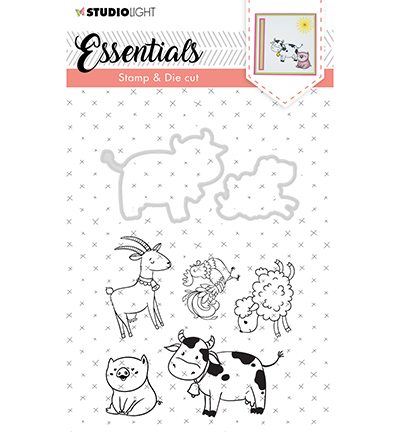 Stamp & Die Cut Essentials Animals nr.32
