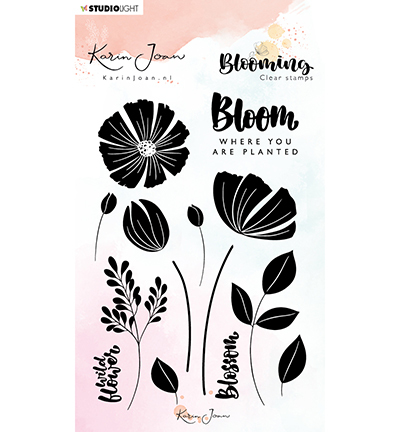 Stamp, Karin Joan Blooming Collection nr.01