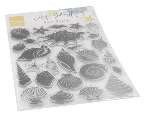 CS1061 - Colorfull Silhouette - Sea Shells