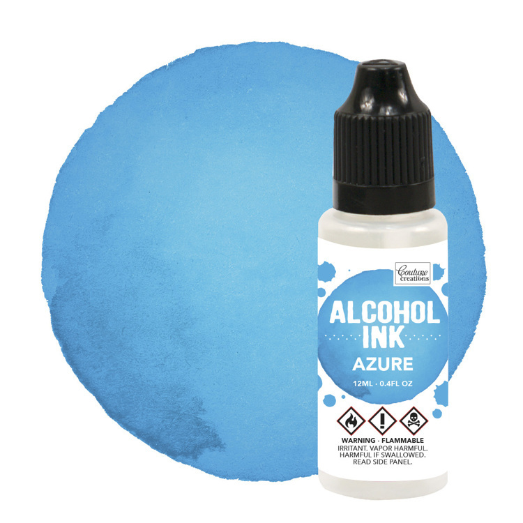Alcohol Ink Aquamarine / Azure Blue (12mL | 0.4fl oz)