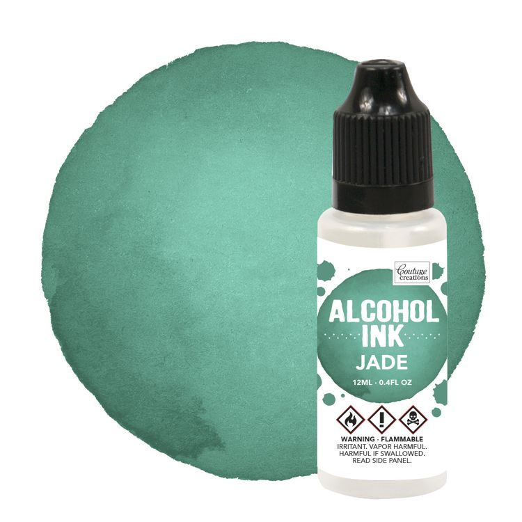 Alcohol Ink Bottle / Jade (12mL | 0.4fl oz)