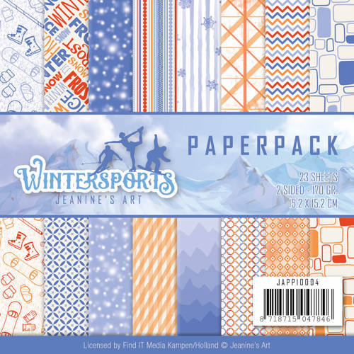 Paperpack - Jeanine's Art - Wintersports