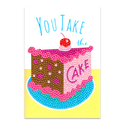 Craft Artist Diamond Art Card Kits - Take the Cake