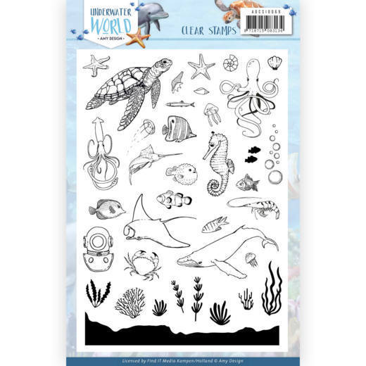 Clear Stamps - Amy Design - Underwater World