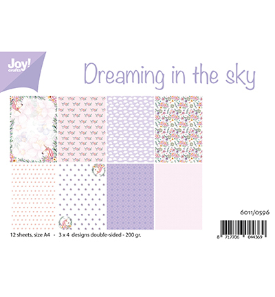 Papierset - Dreaming in the sky