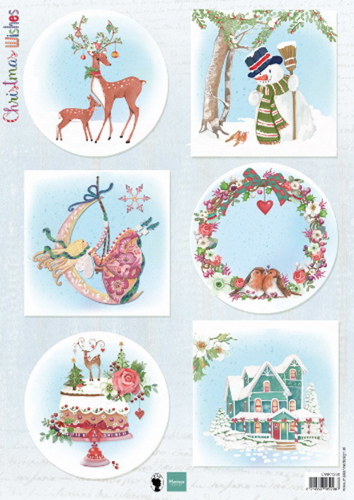 Marianne Design-Christmas Wishes deer - EWK1280