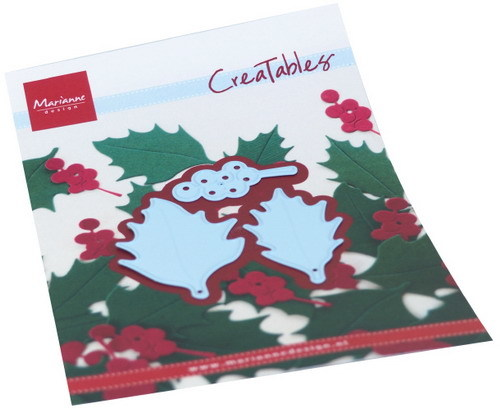 Marianne Design-Creatable --    Holly leaves LR0675