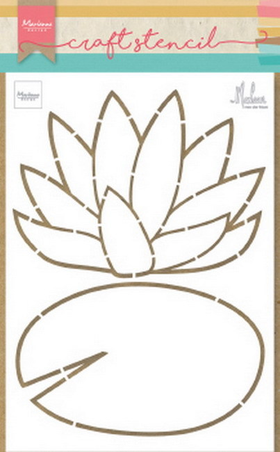 Craft Stencil - Waterlily by Marleen - PS8072