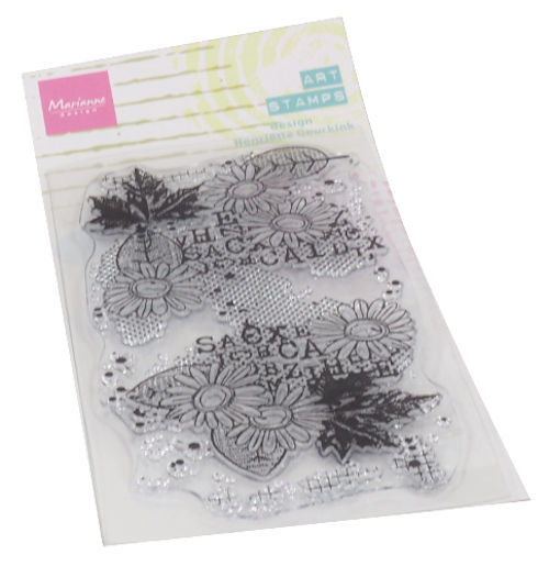 Marianne Design MM1633 - Art stamps Chrysant