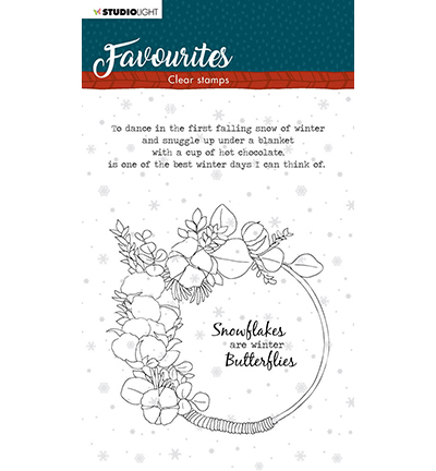 Studio Light - Clear Stamp - Winter's Favourites - nr.506