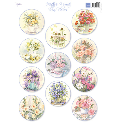 Marianne Design MB0190 - Mattie's Mini's  Flowers