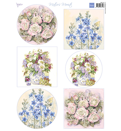 Marianne Design MB0191 - Mattie's Mooiste - Field flowers