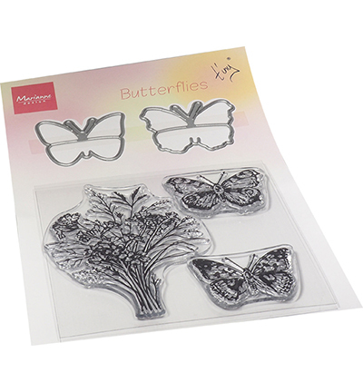 Marianne Design  TC0879 - Tiny's Butterflies stamp & die set
