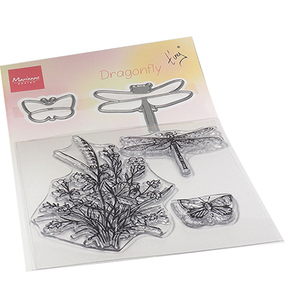 Marianne Design  TC0880 - Tiny's Dragonfly stamp & die set