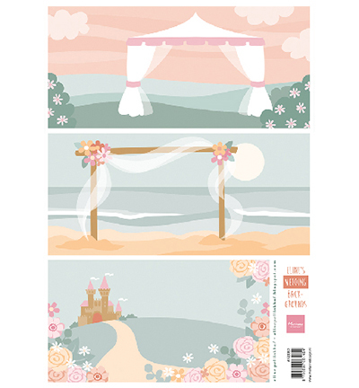 AK0083 - Eline's wedding background