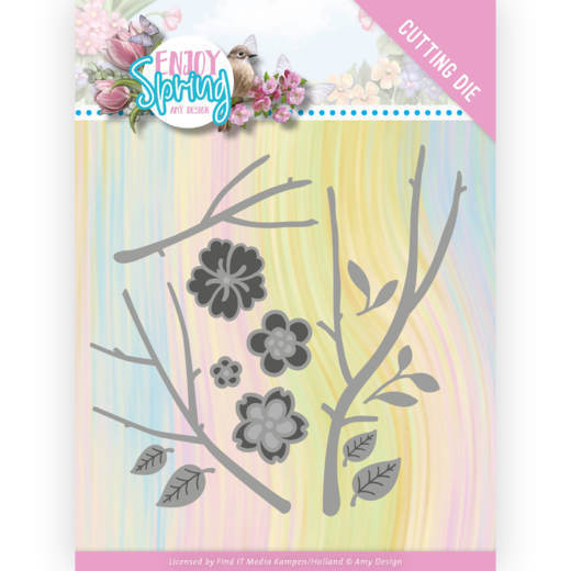 Dies - Amy Design - Enjoy Spring - Blossom Branch