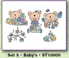 Clearstamps Stampies  Baby`s