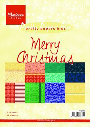 PRETTY PAPERS MERRY CHRISTMAS