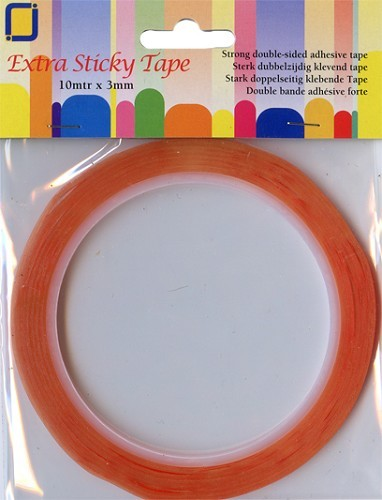 EXTRA STICKY TAPE 3MM.
