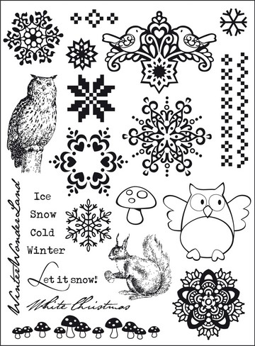 ELINE`S (WINTER) HUIS CLEAR STAMP