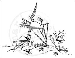 CLEAR STAMP MOLEN WS2201