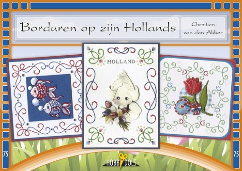 HOBBYDOL 75 BORDUREN OP Z`N HOLLANDS