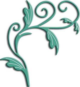 Doily mal Tropical Flourish B-127