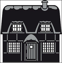 CRAFTABLE ENGLISH COTTAGE CR1219