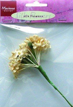 SILK FLOWERS (OFF WHITE) JU0852