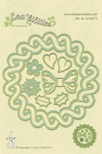 Lea`bilitie - Wreath 4 seasons cut & embossing die