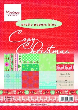 Pretty Papers bloc Cosy Christmas PK9086