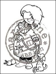HM Clear Stamp Decorating HM9447