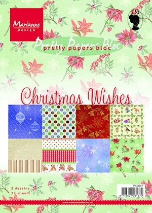 Pretty Papers bloc Christmas wishes PK9087