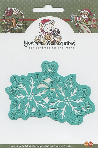Yvonne Creations - Christmas flower