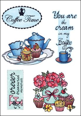 Clear Stamp Coffee time EWS2207