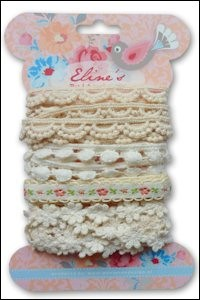 Eline`s ribbons white EL8531