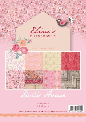 Pretty Papers bloc Eline`s Doll House PB7042