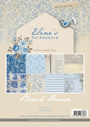 Pretty Papers bloc Eline`s Beach House PB7043