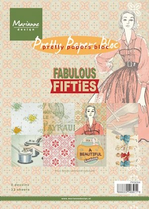 Pretty Papers bloc Fabulous Fifties PK9094