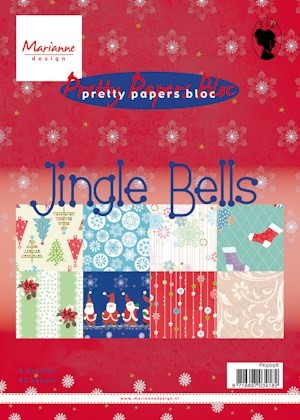 Pretty Papers bloc Jingle Bells PK9098