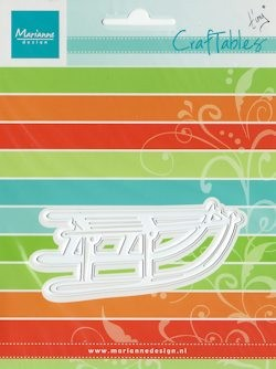 Craftables stencil Tiny`s sled CR1257